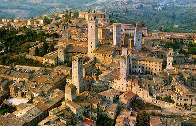 Vacanza a San Gimignano costa sud - Italia